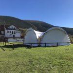 Арочный шатер 8х8